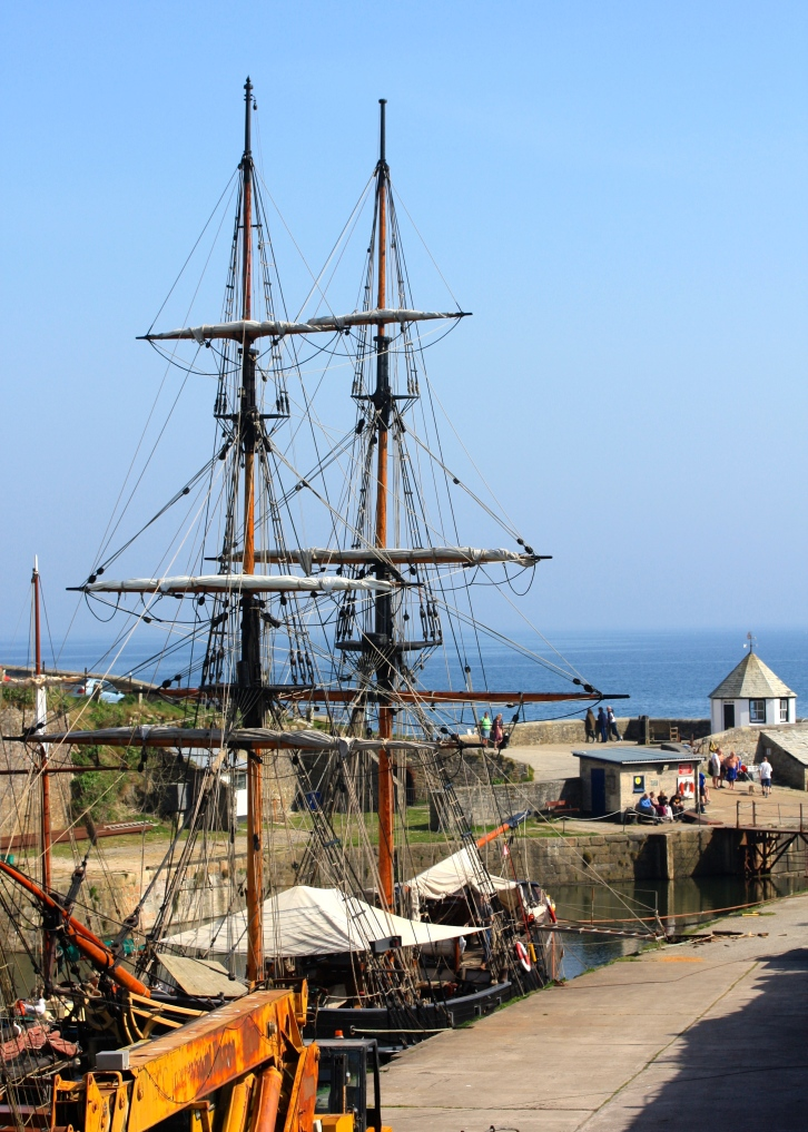 Far from half-mast, the BBC's revival of Poldark is flying the flag for British television
