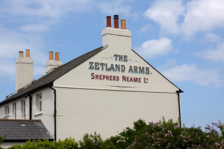 The Zetland Arms, Kingsdown, Kent, May 2015