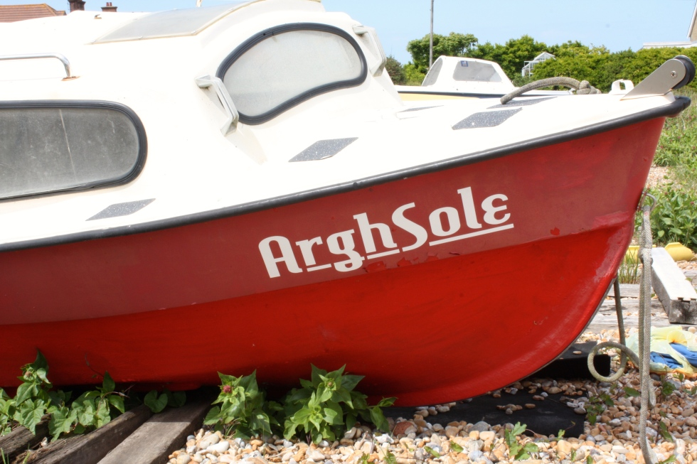 Argh Sole, Kingsdown, Kent, May 2015
