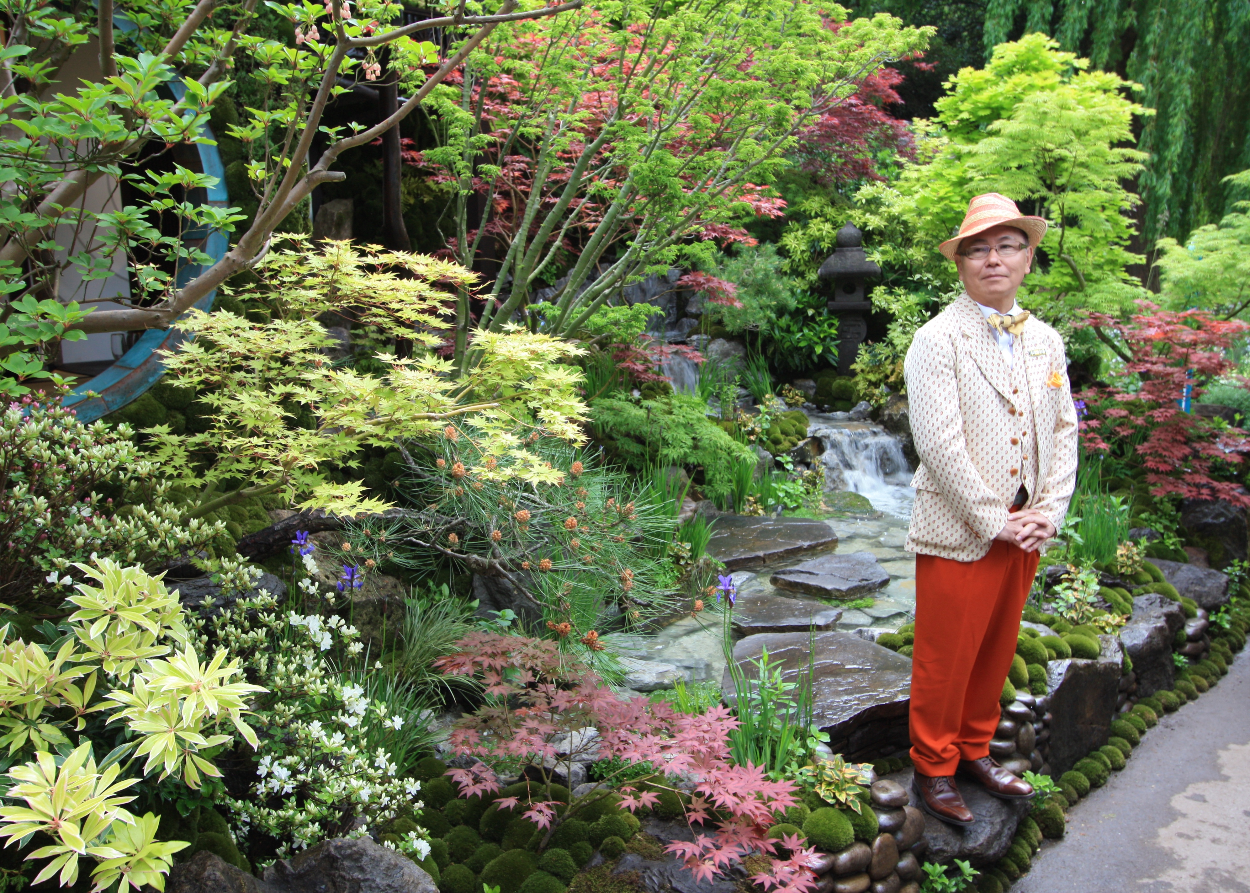 chelsea flower show 2015 – stars of the show: edo no niwa by
