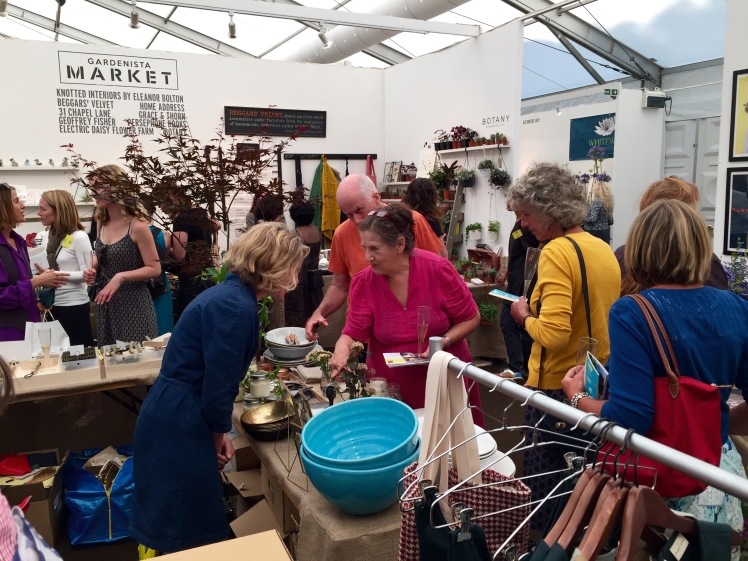 Gardenista Market, Grow London, June 2015