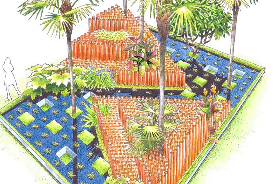 John Warland's World Vision Garden will be reprised at Hampton Court