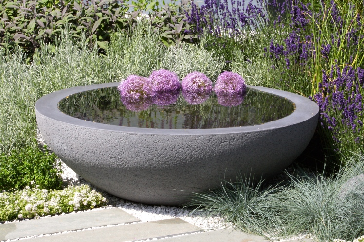 Detail of Living Landscapes: Healing Urban Garden, Hampton Court 2015