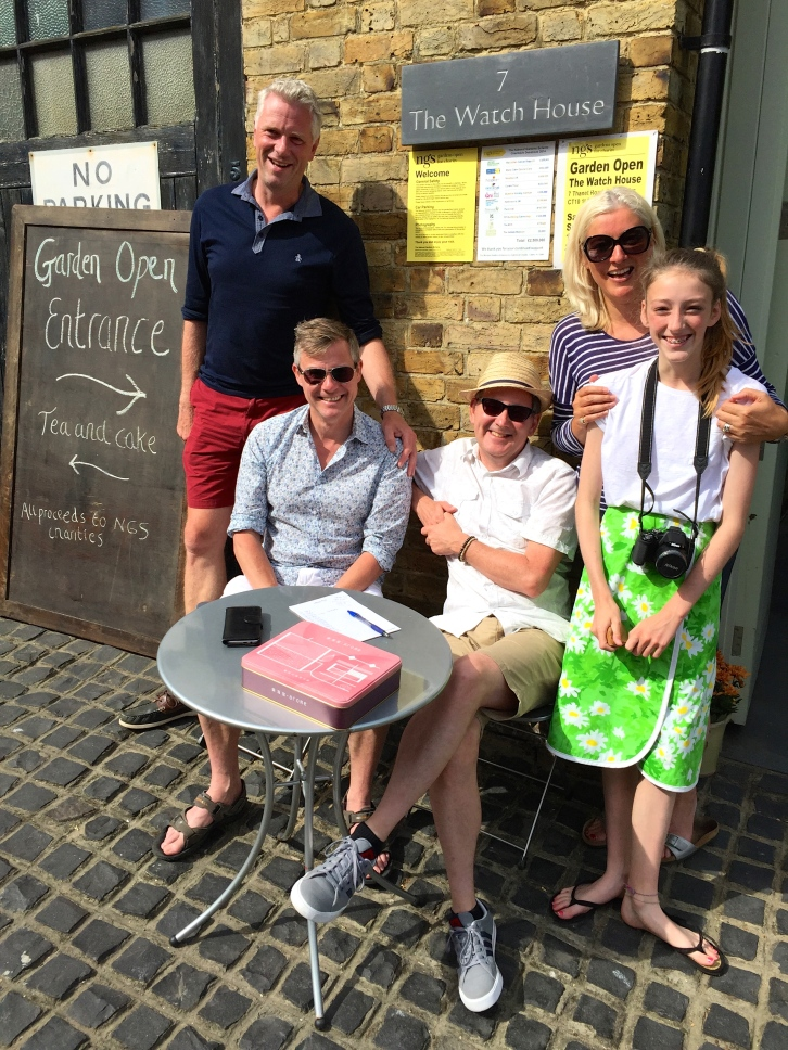 Sunday's top team: Simon, Alex, Nigel, Rachel and Scarlett
