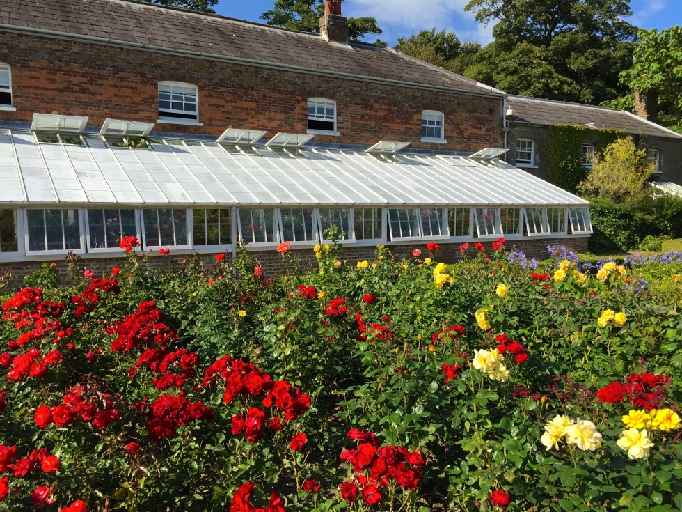 The Kitchen Garden, Walmer Castle, Kent, August 2015