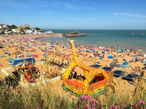 Viking Bay, Broadstairs, August 2015