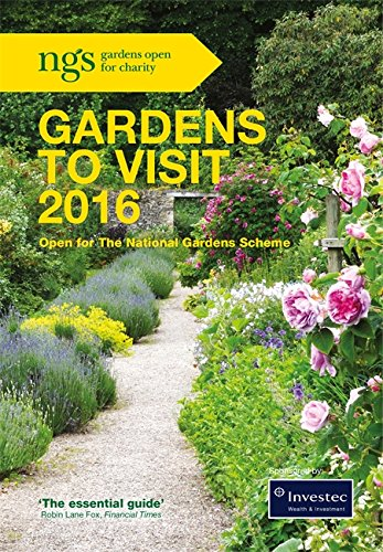 NGS GARDENS TO VISIT 2016, FRONT COVER