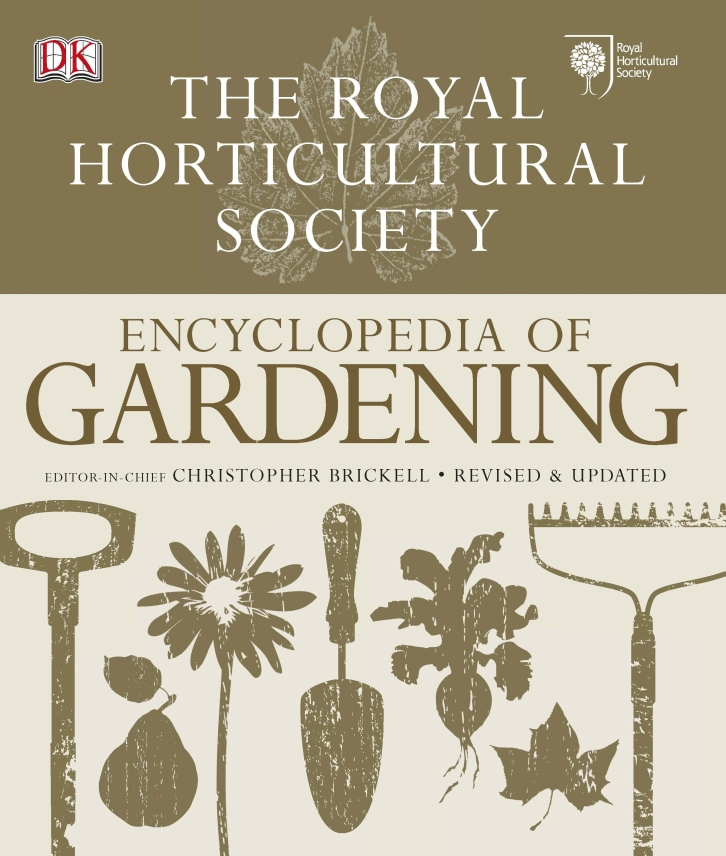 RHS Encyclopedia of Gardening, Cover
