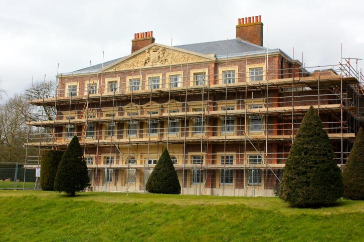 Goodnestone Park House, February 2016