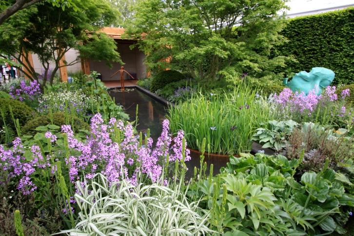The Morgan Stanley Garden for Great Ormond Street Hospital designed by Chris Beardshaw: Gold