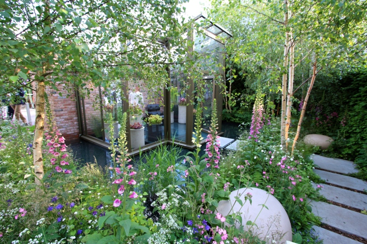 The Hartley Botanic Garden designed by Catherine MacDonald: Silver Gilt
