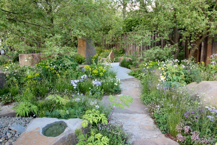 The M&G Garden designed by Cleeve West: Gold