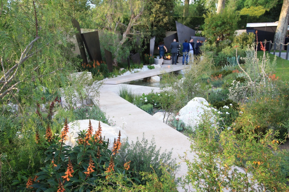 The Telegraph Garden designed by Andy Sturgeon: Gold and Best in Show