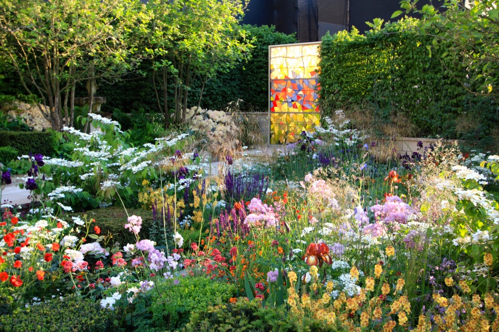 God's Own County Garden designed by Matthew Wilson: Silver