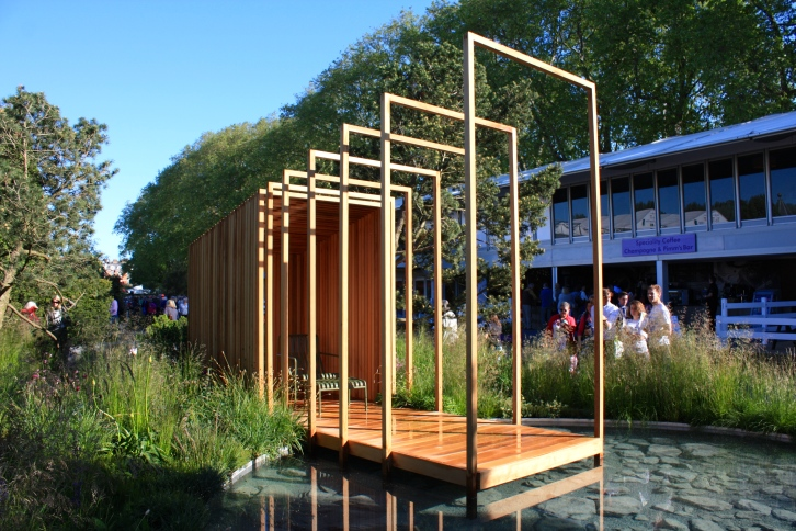 The Cloudy Bay Garden designed by Sam Ovens: Silver Gilt