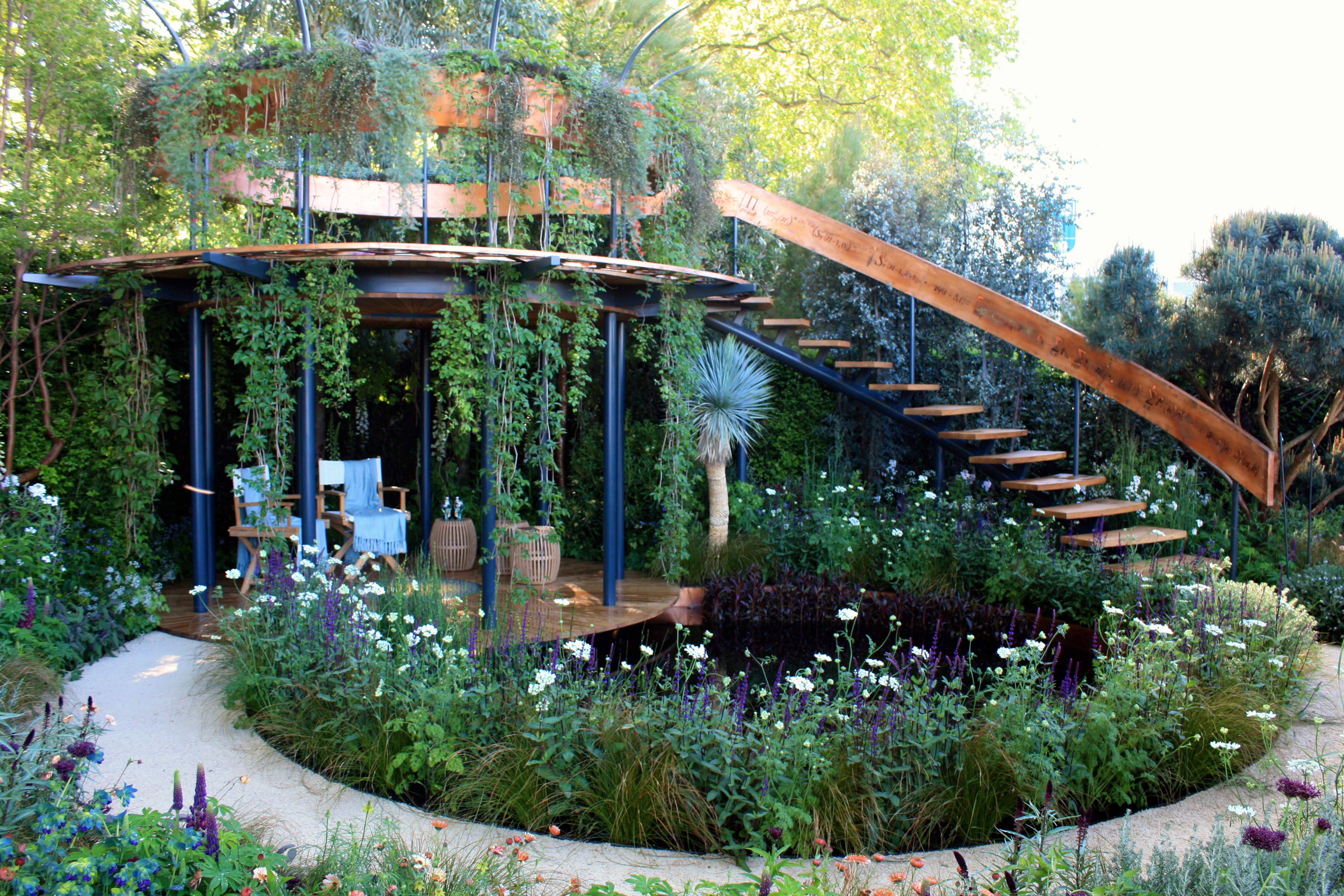 Chelsea Flower Show 2016 My Best In Show The Winton Beauty Of Mathematics Garden The