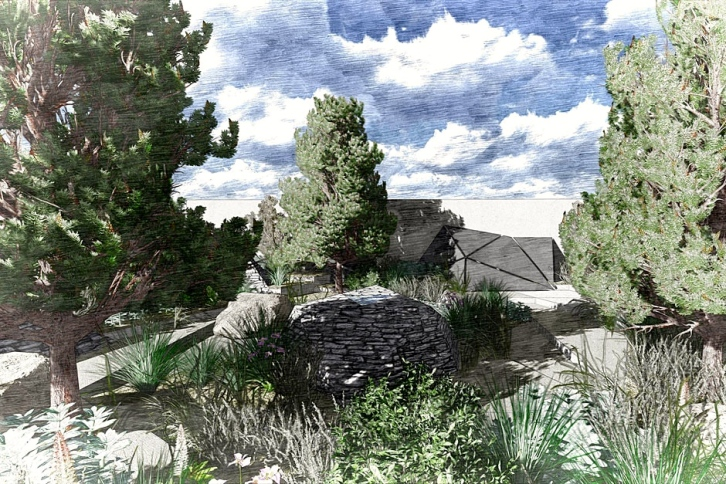 Royal Bank of Canada Garden, Hugo Bugg, Chelsea Flower Show 2016