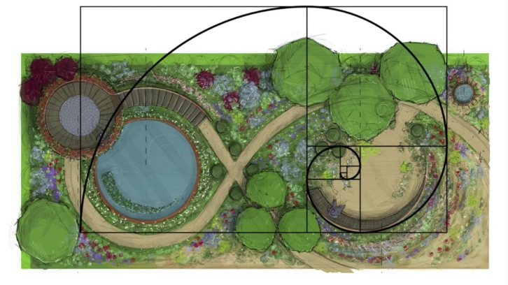 Winton Beauty of Mathematics Garden, Nick Bailey, Chelsea 2016