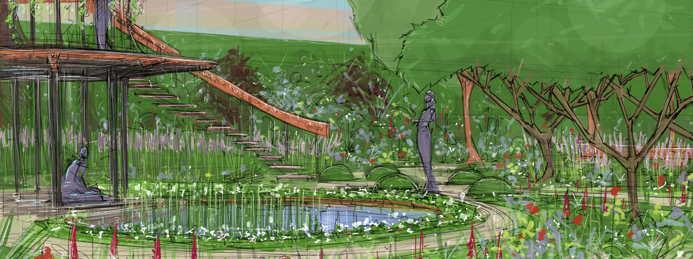 Winton Beauty of Mathematics Garden, Nick Bailey, Chelsea 2016