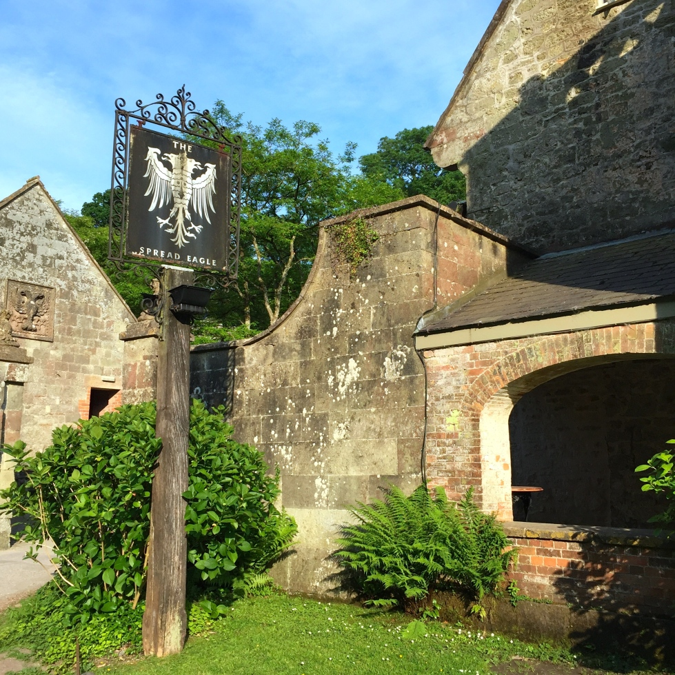 Entrance to the public house, formely known as The Stourton Inn