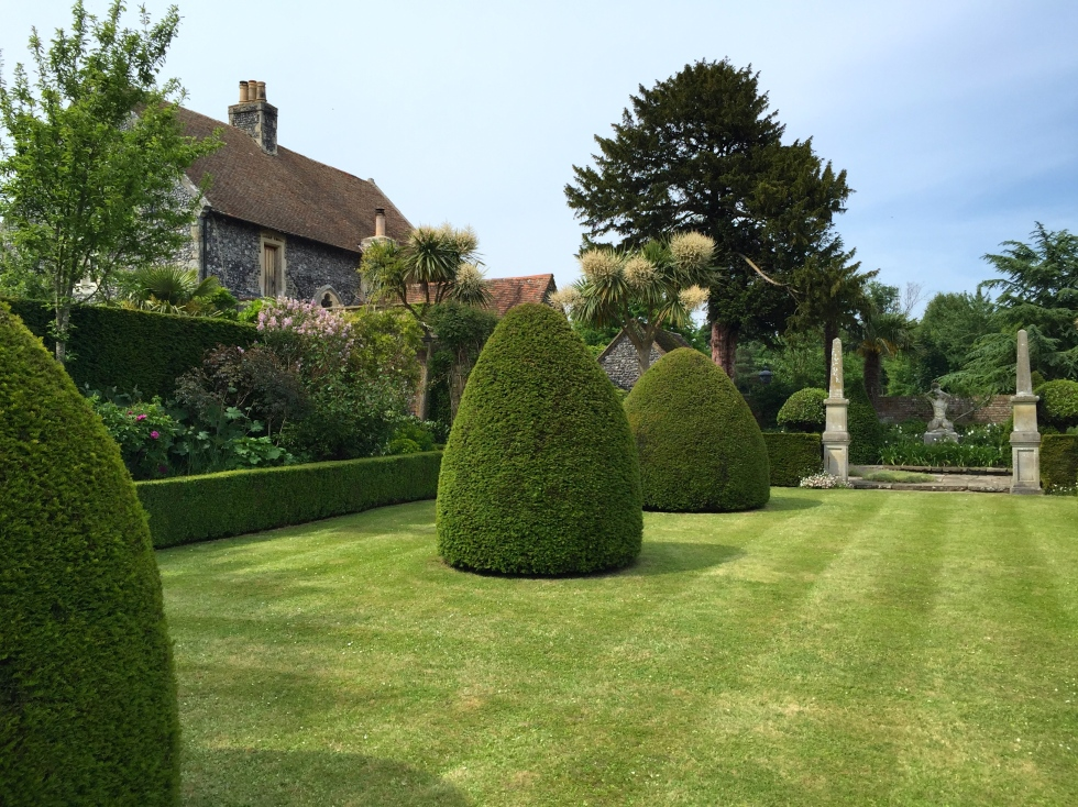 yew topiary, The Chapel, Thorne Hill, Ramsgate, Kent
