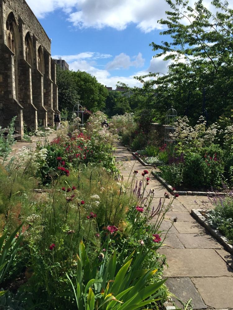 Castle Park Physic Garden, Bristol, June 2016