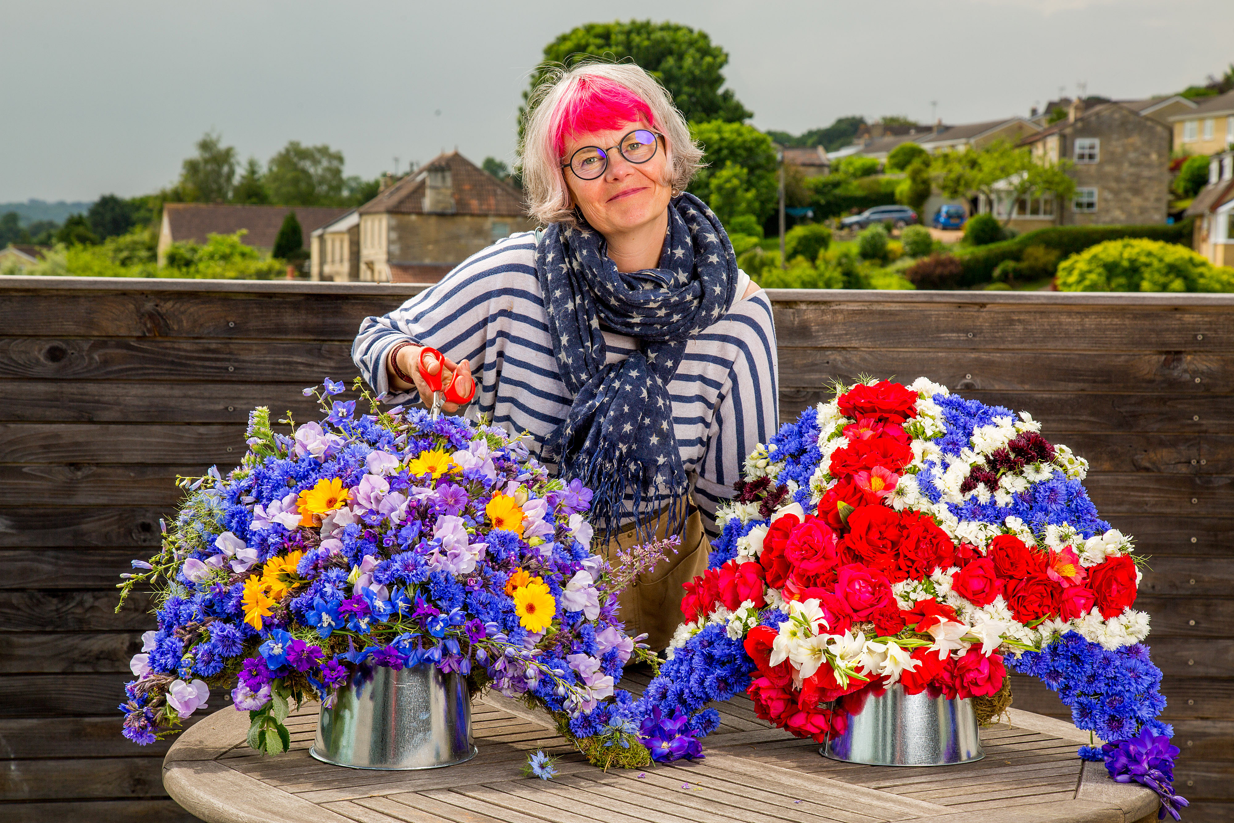 In out in out shake it all about the frustrated gardener fiona haser bizony owner of electric daisy flower farm izmirmasajfo