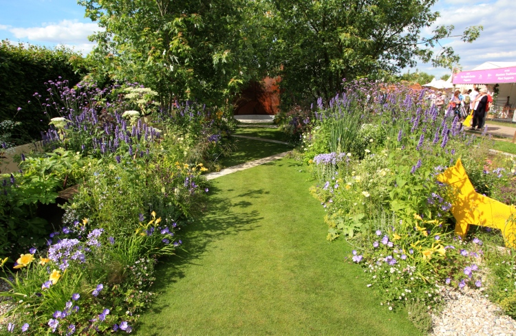 Dog's Trust Garden, Hampton Court 2016