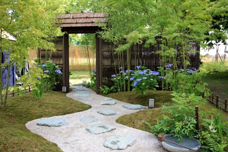 Japanese Summer Garden, Hampton Court 2016