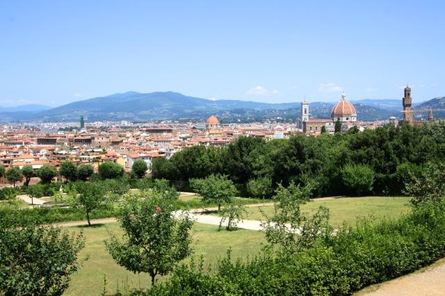 The Duomo from the Boboli Gardens