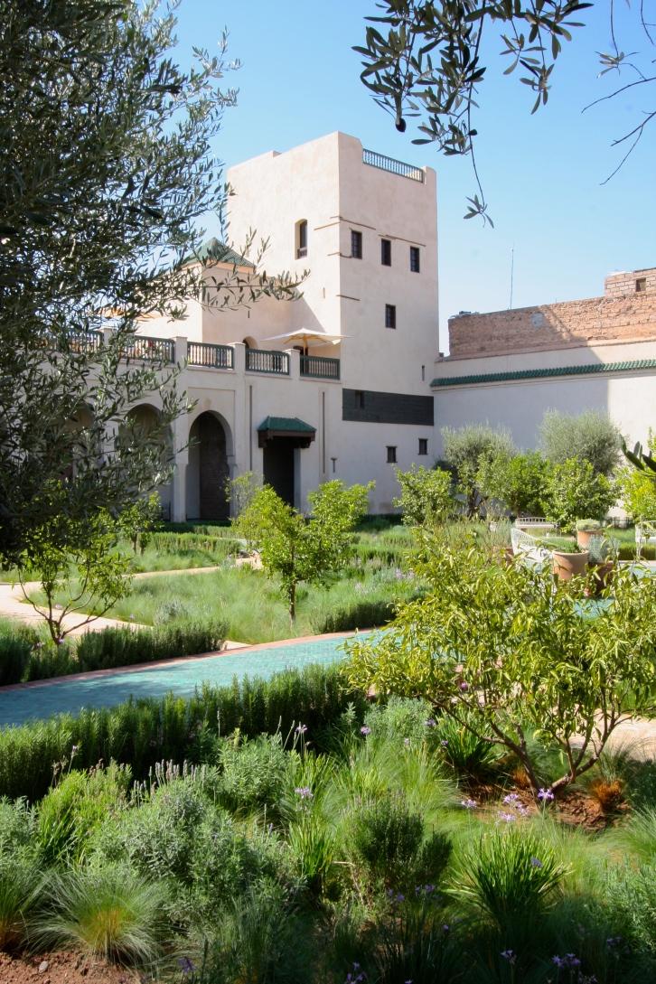 Oud el Ward pavilion, the Islamic garden, Le Jardin Secret, Marrakech, September 2016