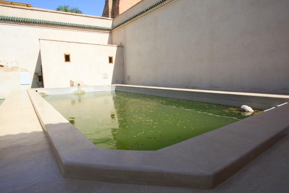 Reservoir, Le Jardin Secret, Marrakech, September 2016