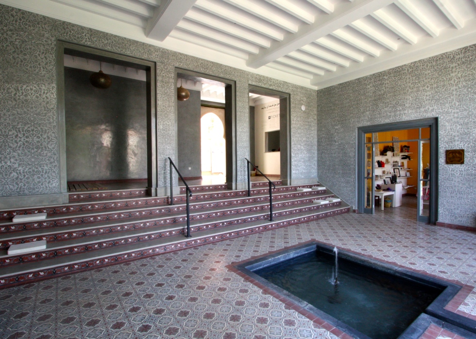 Reception building, Le Jardin Secret, Marrakech, September 2016