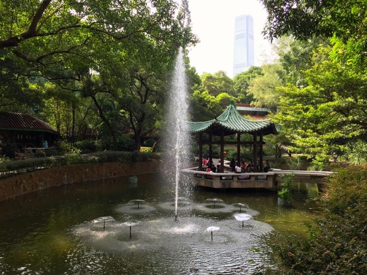 Chinese garden, Kowloon Park, October 2016