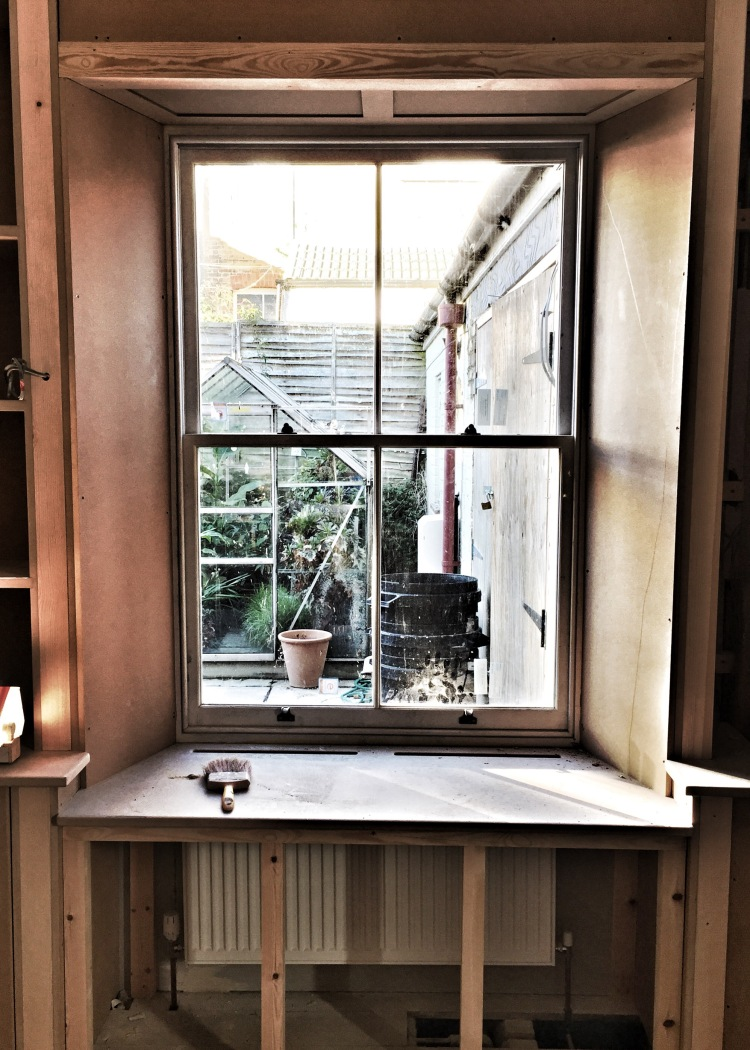 Library window, The Watch House, November 2016