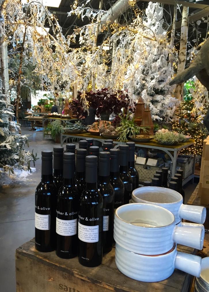 Olive oil, Terrain, Westport, December 2016