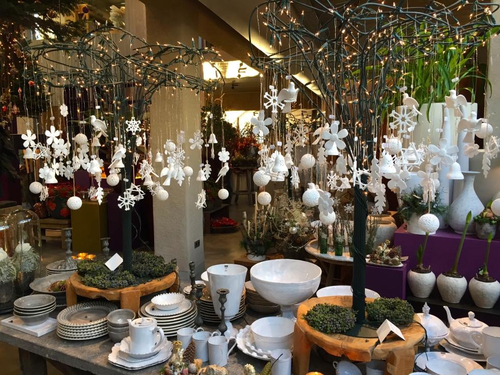 Porcelain Christmas Decorations, Oogenlust, Eindoven, The Netherlands, December 2016