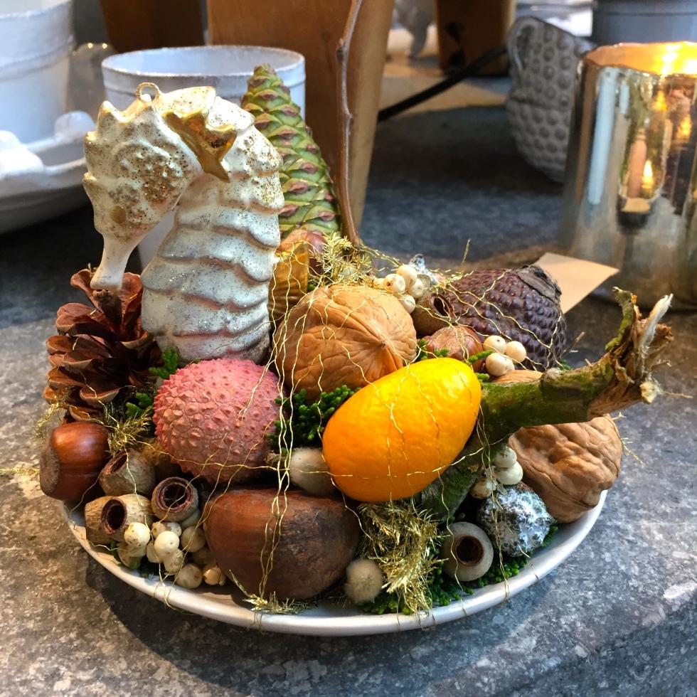 Arrangement of fruits, Oogenlust, Eindoven, The Netherlands, December 2016