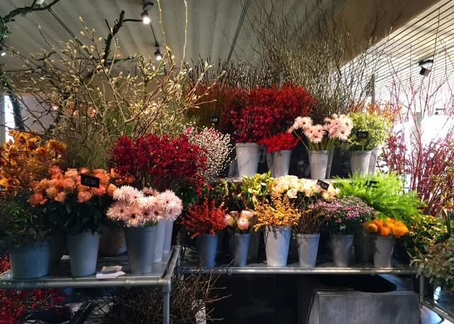 cut flowers, Oogenlust, Eindoven, The Netherlands, December 2016