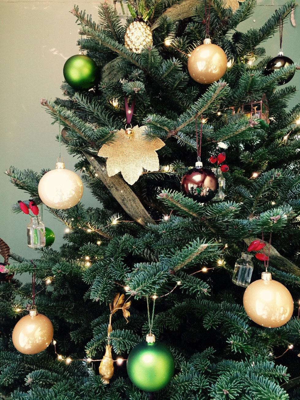 Christmas tree decorations, The Watch House, December 2016,