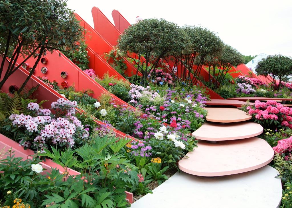 chelsea flower show 2017 chengdu silk road garden the frustrated gardener. Black Bedroom Furniture Sets. Home Design Ideas