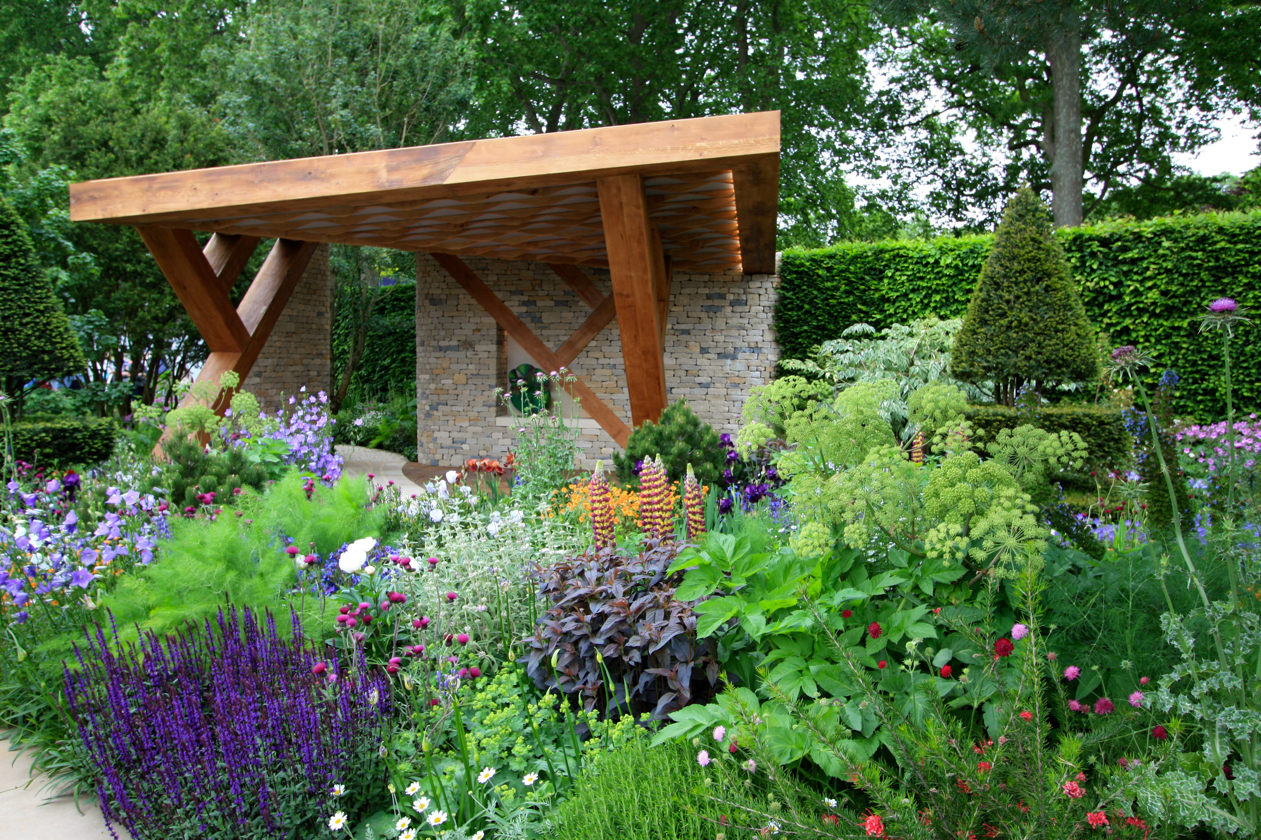 chelsea flower show 2016-2017: the morgan stanley gardens – the