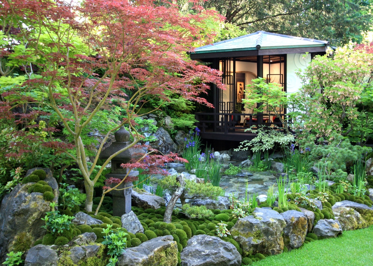 Chelsea Flower Show 2018: O-mo-te-na-shi no NIWA - The Hospitality Garden ホスピタリティガーデン