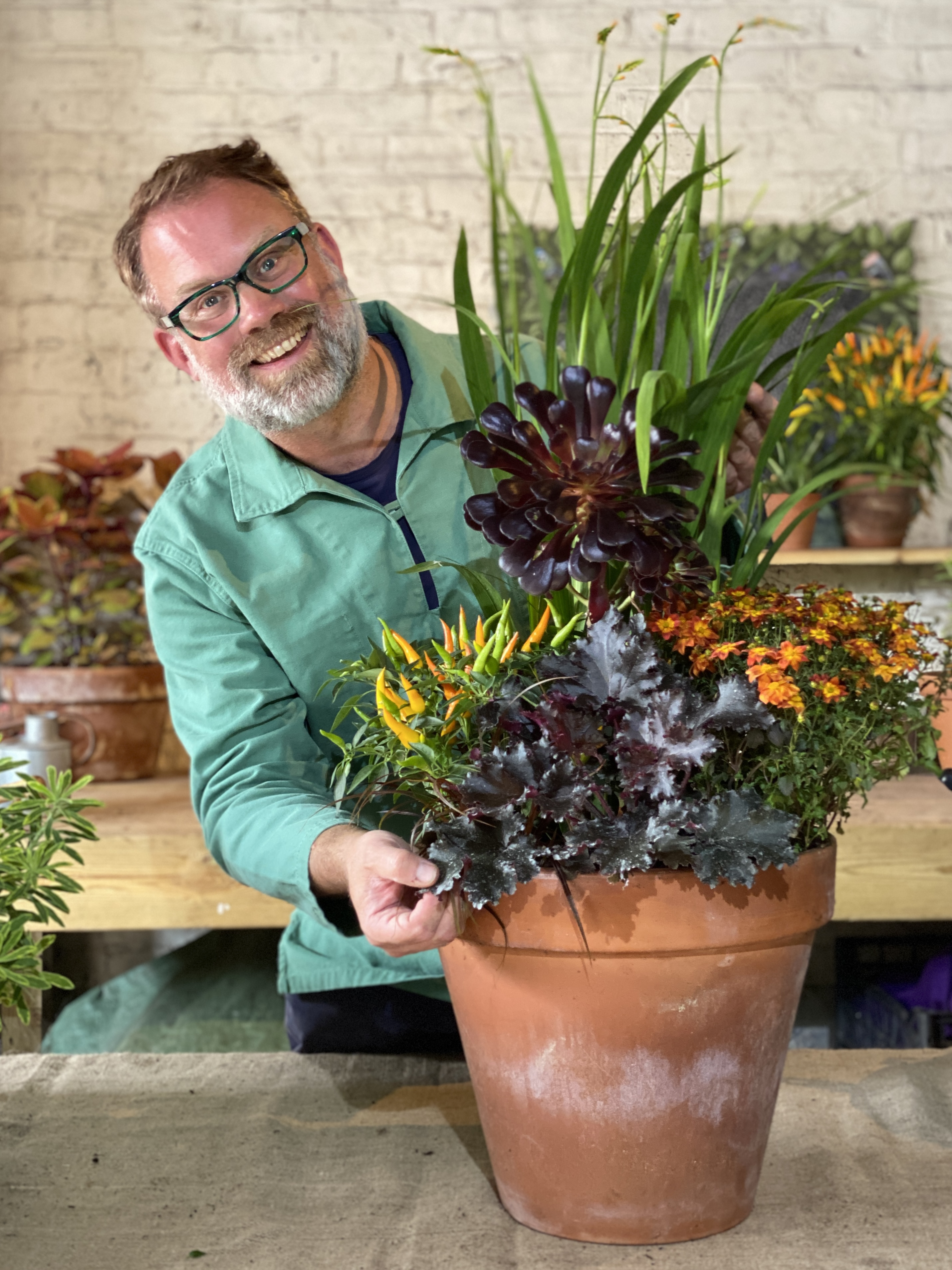 Planting A Container for Autumn Colour